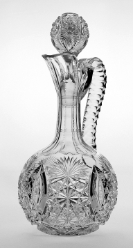 Hawkes Grecian decanter