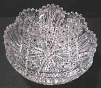 Cut Glass Bowl by Anderson